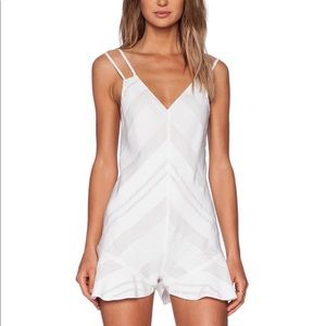 NBD For A Thrill Romper In Ivory